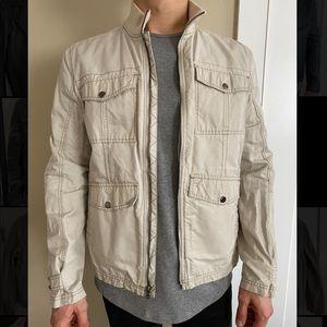 calvin klein garment wash jacket (M)